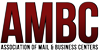 association of mail and business centers logo